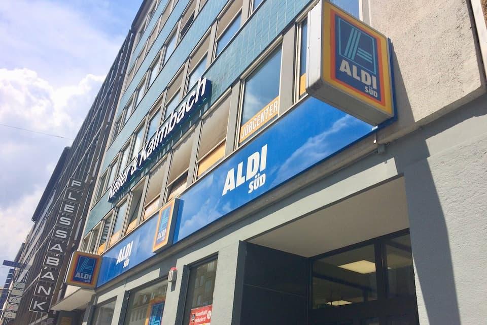 ドイツのスーパー「ALDI」