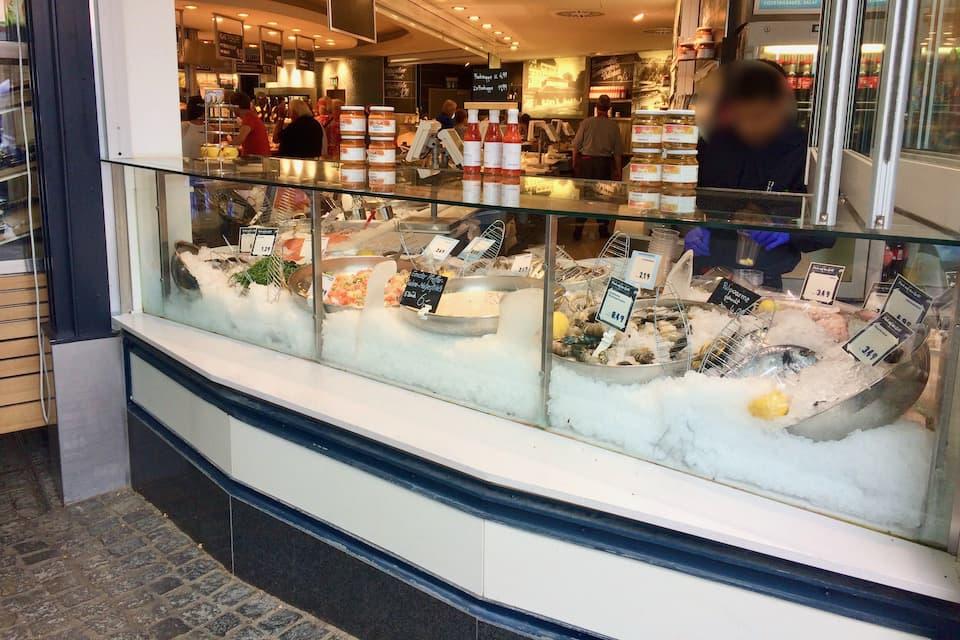 ミュンヘンの市場ヴィクトアーリエンマルクト